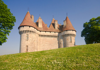 CHATEAU DE MONBAZILLAC A listed sixteenth century building