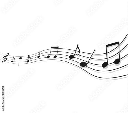 top vektor musiknoten hintergrund - photo #47