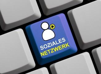 Soziales Netzwerk - Freunde online