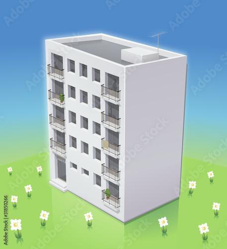 Immeuble à la campagne