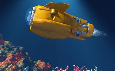 Deep Sea Submarine