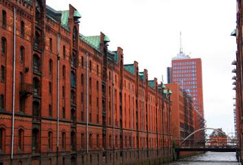 Gebäude Speicherstadt