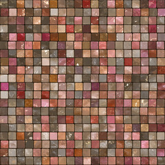 Abstract tile mosaic