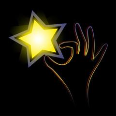 Coger estrella