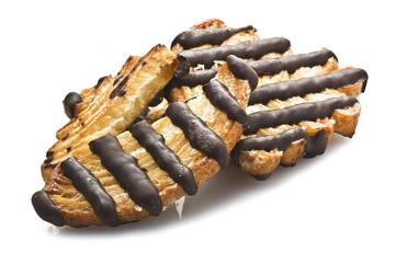 Biscotti di Sfoglia al Cioccolato