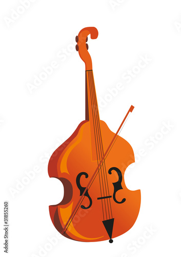 music instrument cello with joining