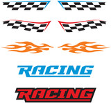 Racing Decal Logo