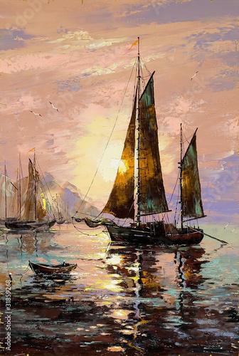 Sailing boat - 31859268