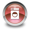 "Red Glossy Pictogram ""Laundromat"""