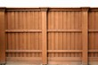 Solid wood fence - 31866806