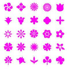 花のシンボルセット