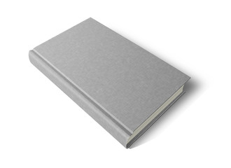 cloth covered hardback book