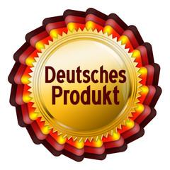 button schleife siegel deutsche wertarbeit produkt