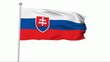Fahne Slowakei