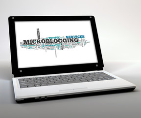 "Mobile Thin Client / Netbook ""Microblogging"""