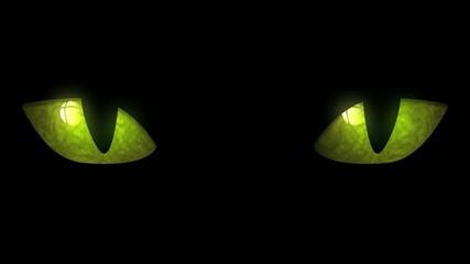 Cat Eyes Blinking Loop
