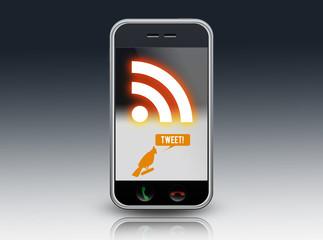 "Smartphone ""Tweet! / Microblogging"""