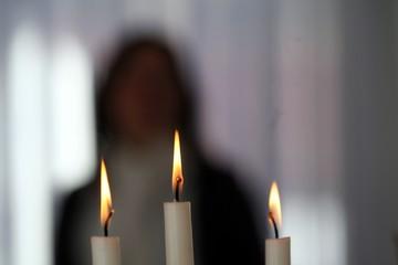 Kerzen Hintergrund 1