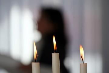 Kerzen Hintergrund 2