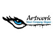 Graffiti paint artwork company logo template