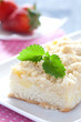 frischer Apfel Streusel Kuchen