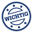 WICHTIG button