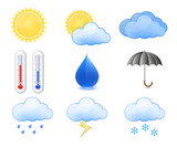 Weather Forecast Icons poster