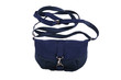Blue female purse