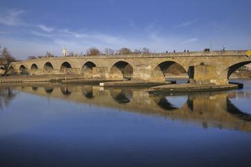 Medieval Stone Bridge, Regensburg