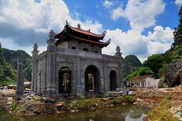 Temple at Ninh Binh, Vietnam