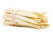 Leinwandbild Motiv Fresh cut white asparagus