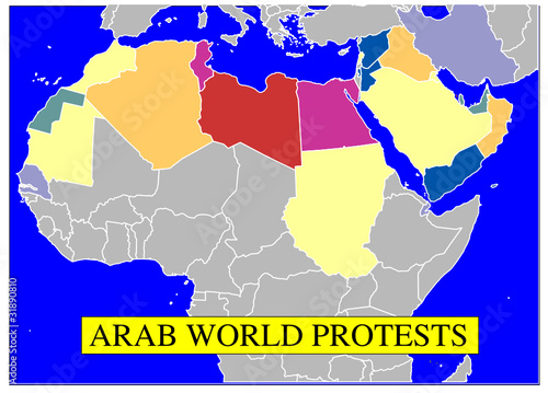 Arab world protests