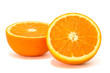 orange with clipping path