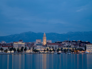 Evening in Split.