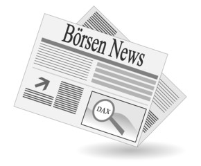 Börsenzeitung Clipart