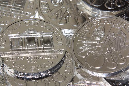 Silbermünzen - Wiener Philharmoniker