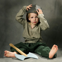 enfant déguisé