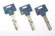clés de porte blindée