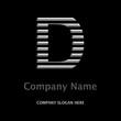 Logo Company D SILBER