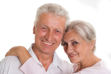 elderly couple together