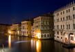 Canal Grande zur blauen Stunde