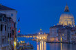 Santa Maria della Saluta am Canal Grande bei Nacht