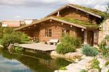 Fototapeta wooden house