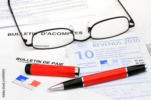 Déclaration d'impôts