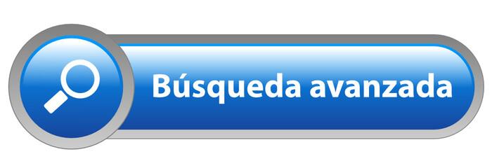 """Botón Web """"BUSQUEDA AVANZADA"""" (buscar internet búsqueda lupa go)"""