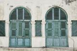 windows in massawa eritrea ottoman influence poster