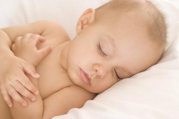 portrait of a beautiful newborn