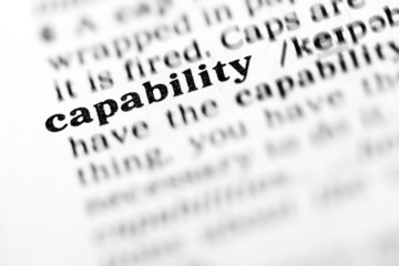 capability (the dictionary project)