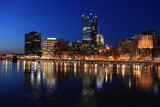 view of the Pittsburgh skyline