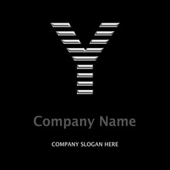 Logo Company Y SILBER